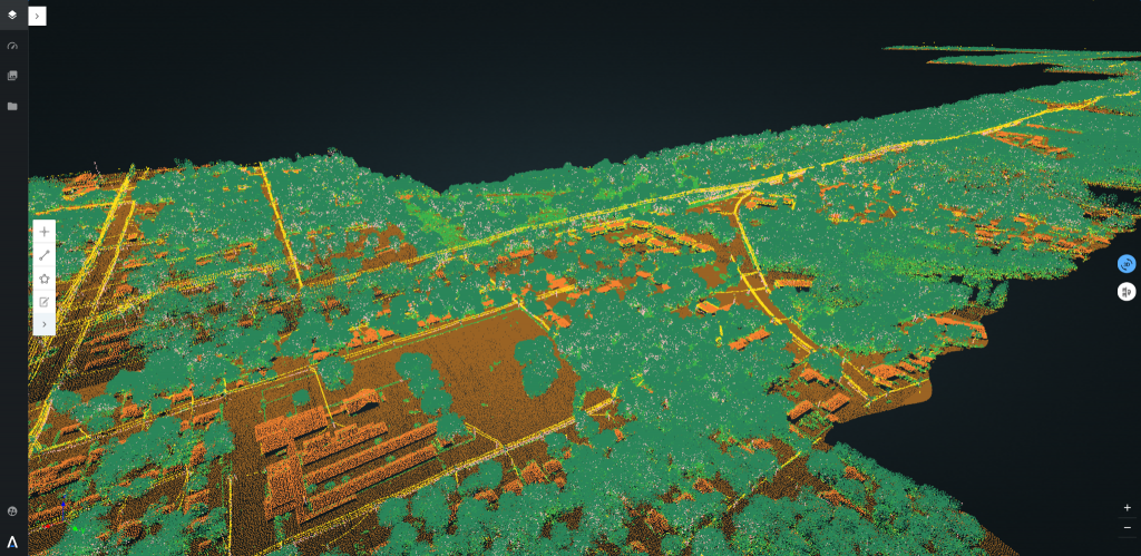 The Alteia platform now enables automated LiDAR Classification for construction project tracking and asset digitization